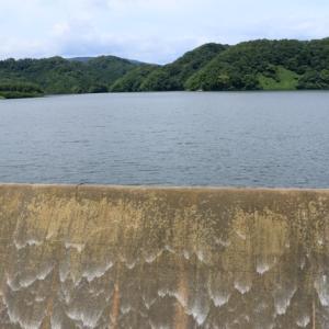 「二ツ石ダム」2/2、ダムサイトら辺 [加美町探検 #10]