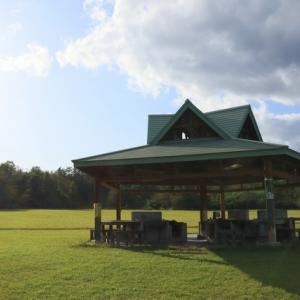 鶯沢「金田森公園」キャンプ場、宮城県栗原市