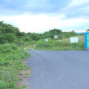 「蕪栗沼」の駐車場、宮城県大崎市