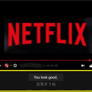 【Netflix】英語と日本語の字幕を同時に表示する方法
