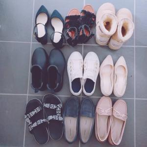靴を断捨離しました