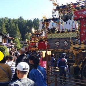 飛騨高山 秋の高山祭(八幡祭)