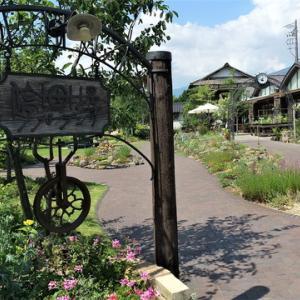 小諸駅横の癒しの庭に囲まれたカフェ「停車場ガーデン」のワンプレートランチ