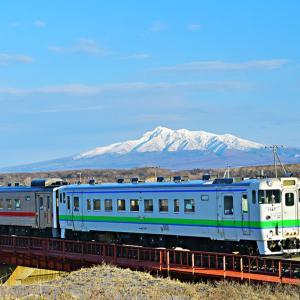 釧網線で見かけるいろんな列車その1 ル、ルパン三世! 流氷ノロッコ号!