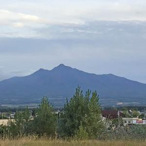 今日の斜里岳 2020年9月13日 やっと暑さも過ぎ去る