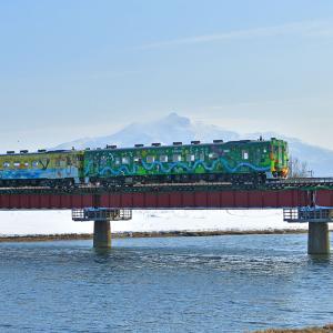 列車の車窓から流氷が見られる「流氷物語号」2021年運行開始 でも観光客はまばら