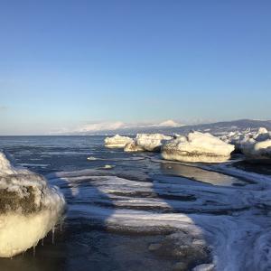 知床に流氷が来て静寂の海になる(流氷の海中継付) 2021年2月5日
