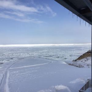 見渡す限り流氷の海 知床(斜里町日の出)2021年2月