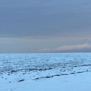 去ったと思った流氷が再接岸 2021年3月18日 知床・斜里の流氷シーズンはまだ続く!
