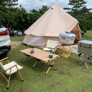 家族でキャンプ〜赤磯崎キャンプ場〜