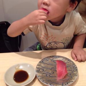 7年前、息子が回転寿司デビューした日