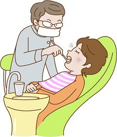 歯茎からの出血が増えてきたので歯医者へ