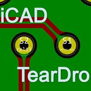 KiCADでTeardropを付ける