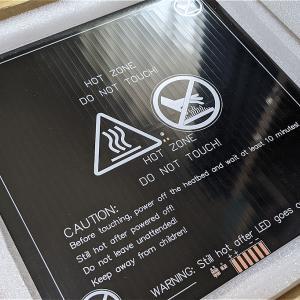 ヒートベッドの換装と昇温時間短縮ー3Dプリンタ