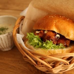 <おうちごはん>ハンバーガー♪自宅で外食気分♡