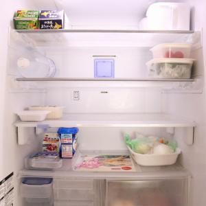 <冷蔵庫収納>食材の買い出し!買い出し前⇒買い出し直後⇒買い出し後(実は昨日、お客様感謝デーに)