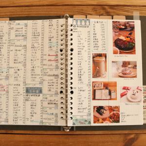 <手書き家計簿>2月最終ページに写真を貼り付け☆1ヶ月の思い出♪Twitter凍結中・・・