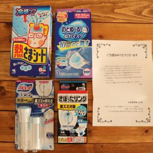 <当選16>小林製薬さま「厳選日本のごちそう」ラッキー賞『商品詰め合わせ』♪