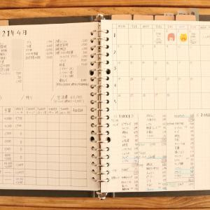 <手書き家計簿>4月1週目締めました!支出11657円☆水曜日は娘のお弁当作り♪