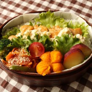 【お弁当】「3つの調味料で」簡単チキン南蛮弁当☆ボリューム満点♪