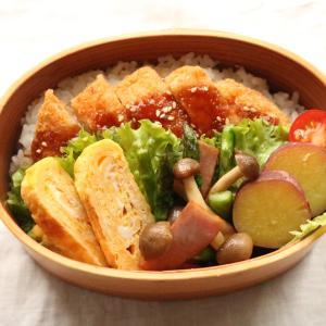 【お弁当】寝坊したけど冷凍食品に助けられてお弁当完成!!コープ宅配冷凍食品が美味しい!とんかつ