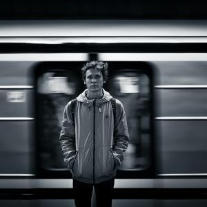 地下鉄で見かけて…