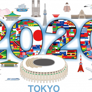 Tokyo Olympic Games (had  been scheduled to start on 24th July 2020)' Indigo Emblem 相互翻訳