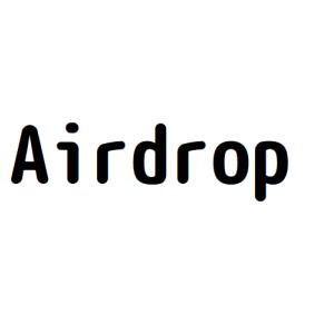Airdrop 画像付き手順
