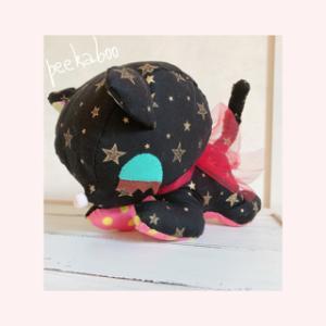 【イメージは黒猫のジジ】完成♡