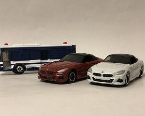 20年1月トミカ新車 BMW Z4、大型人員輸送車
