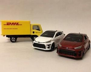 20年10月トミカ新車 トヨタGRヤリス、DHLトラック