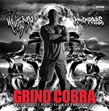 """While The City Burns vs KANDARIVAS split CD """"GRIND COBRA"""""""