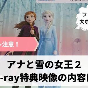 【ネタバレ注意】アナと雪の女王2Blu-rayボーナスコンテンツの内容は?