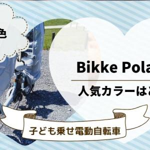 【子ども乗せ電動自転車】ビッケポーラーeの人気色はどれ?