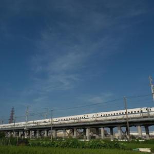 今日は、新幹線のベストショット!