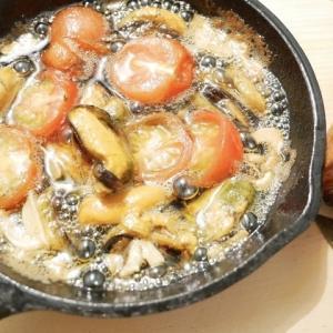 【超簡単!】カルディでゲットした缶詰を使って「ムール貝のアヒージョ」を作ってみた。