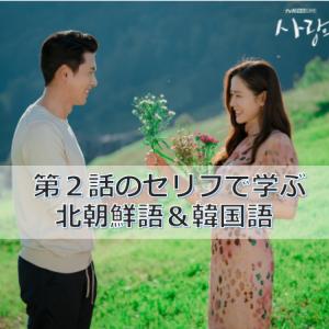 「愛の不時着」第2話のセリフで学ぶ北朝鮮語&韓国語
