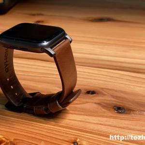 【レビュー】Apple Watch レザーバンド NOMAD MODERN STRAP 本革の質感最高でめちゃかっこいい!