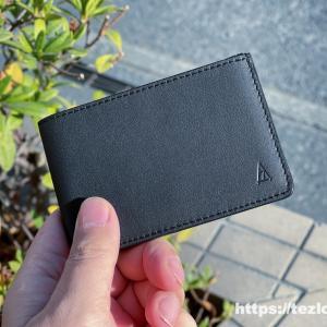 キャッシュレス時代の薄い&小さい 革財布!TAVARAT Receca ミニマリストにオススメ。スマートなデザインとレザーの質感が最高。