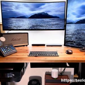 PCとスタンディングデスク周りを配線整理。ケーブルマネジメント方法とグッズを紹介!