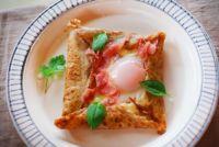 そば粉のガレット お食事クレープのレシピ 卵やハムと朝食に