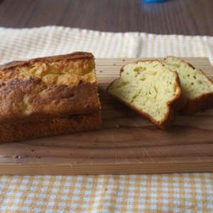 バナナケーキ バターは小麦粉の半分以下の量でもおいしいレシピ