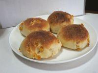 ドンクのコーンパンを高橋雅子さんのレシピで 微量イーストのおいしさ