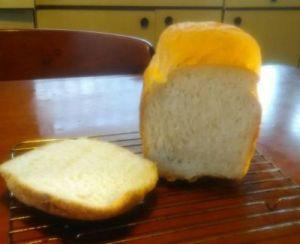 スーパーキングのイギリス風食パン ホームベーカリーのレシピで