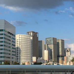 大阪の昼と夜