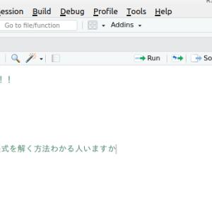 Rstudio 日本語入力できない -Linux