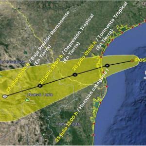 ハリケーン「Hanna」メキシコとテキサスを直撃中