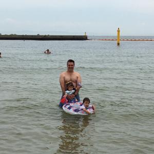 海行ってきました!