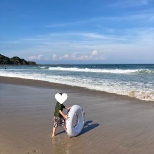 甘い海に行ってきました!