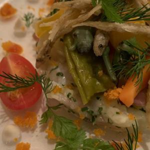 本格鮮魚料理を満喫〜フランス料理ポミエ